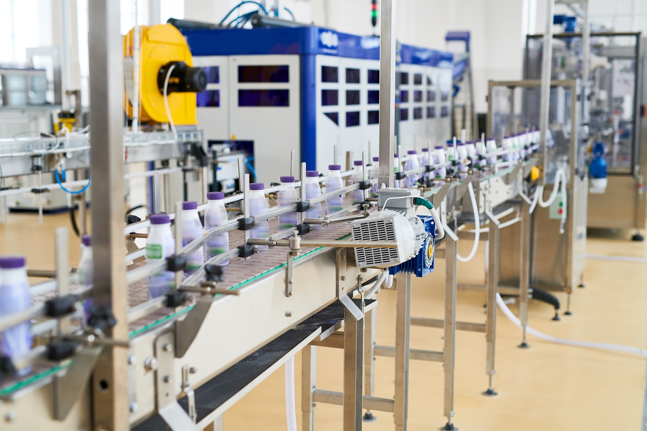 dovoz potravinárskych strojov z Číny