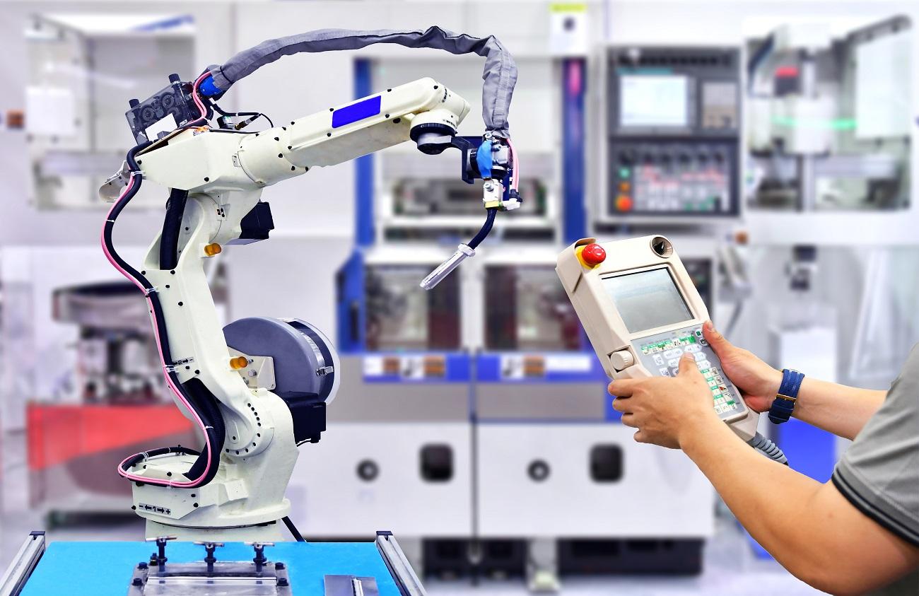 dovoz robotických ramien z Číny