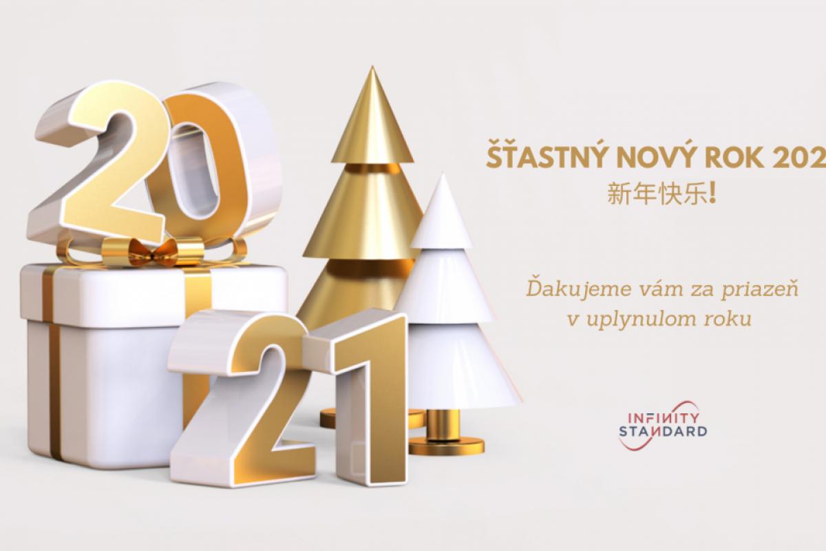Infinity Standard praje štastný nový rok