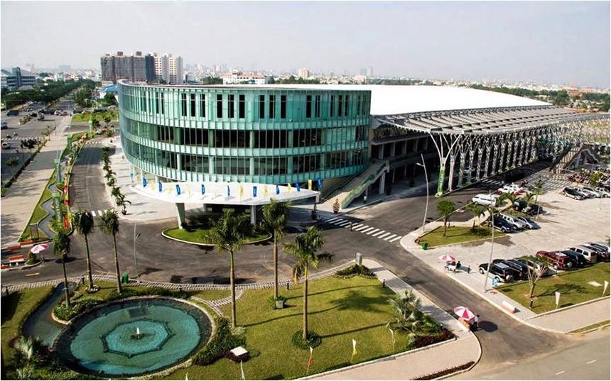 Výstavisko SECC vo Vietname, kde sa konajú výstavy a veľtrhy vo Vietname