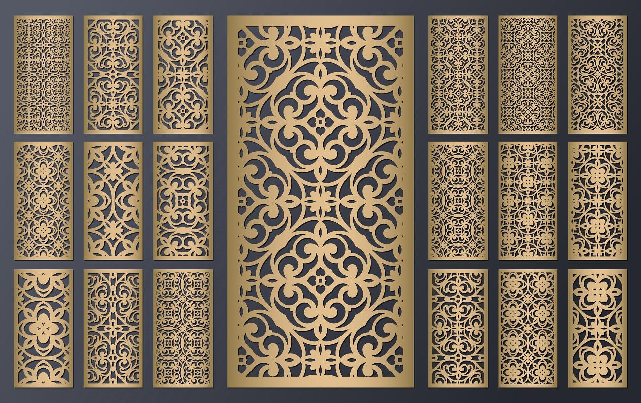Aj takéto ornamenty môžeš vytvoriť na lasery z Číny