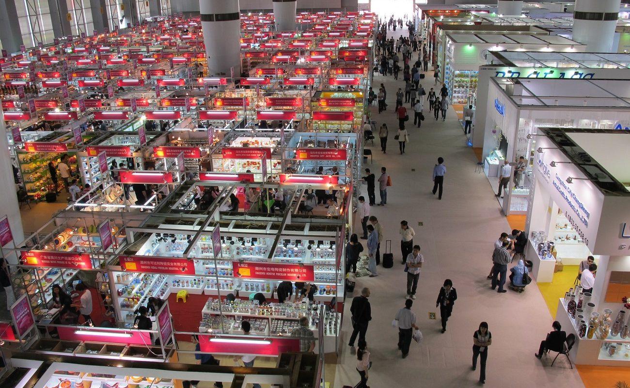 Najväčší veľtrh v Číne Canton Fair (Zdroj fotky: Shinsuke Ikegame)